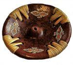 Brucia incenso Terracotta Rotondo