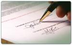 Calcolo del giorno propizio per firmare documenti importanti